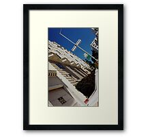 san francisco architecture & streets Framed Print