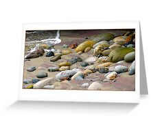stones  (card) Greeting Card