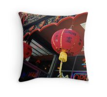 san francisco chinatown chandeliers Throw Pillow