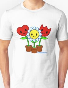 Dewmuffins Happiness Flowers T-Shirt