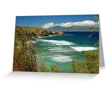 coast of Maui Greeting Card