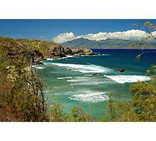 coast of Maui Photographic Print