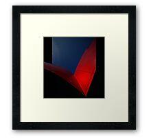 red wings Framed Print
