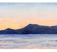 Sunset Kayak Sticker