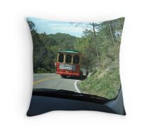 TROLLEY CAR Throw Pillow