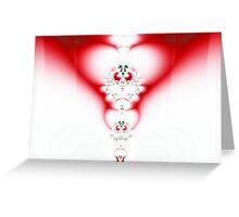 Holiday Heart2 Greeting Card