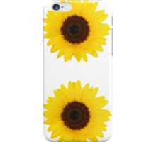 Two sunflowers iPhone Case/Skin