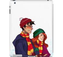 James and Lily iPad Case/Skin