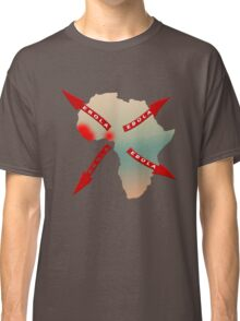 Ebola Virus Worldwide Spread From Africa Classic T-Shirt