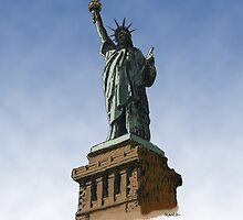 Statue of Liberty, New York by MarkArt