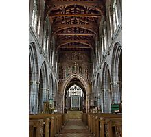 The Collegiate Church of the Holy Cross and the Mother of Him who hung thereon, Crediton, Devon  Photographic Print