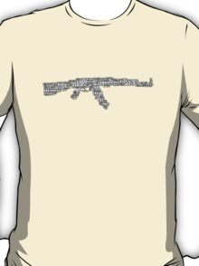 CSGO AK-47 Words Hurt T-Shirt
