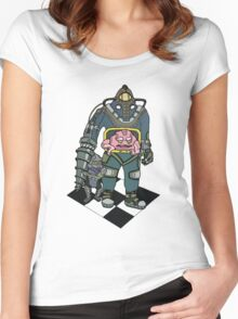 Big Daddy Krang Women's Fitted Scoop T-Shirt