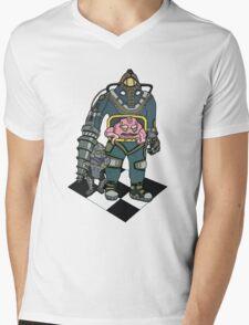 Big Daddy Krang Mens V-Neck T-Shirt