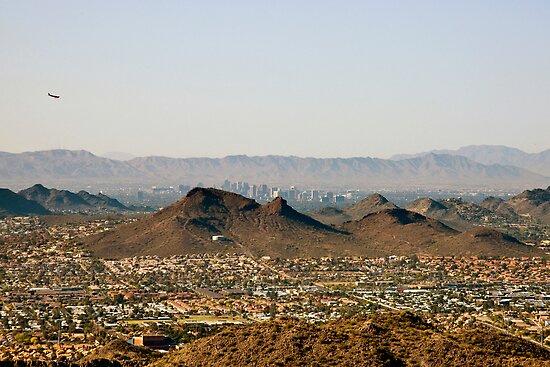 Landing in Phoenix by Kasia-D