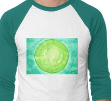 Green World original painting Men's Baseball ¾ T-Shirt
