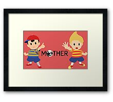 Mother - Ness and Lucas  Framed Print