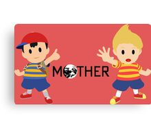 Mother - Ness and Lucas  Canvas Print