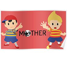Mother - Ness and Lucas  Poster