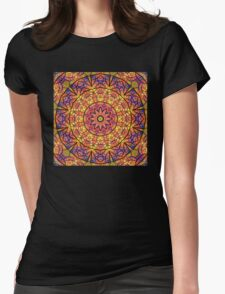 Fall Colors Womens Fitted T-Shirt