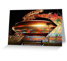 Starship 3000 Greeting Card