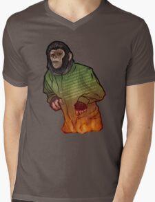 Caesar  Mens V-Neck T-Shirt
