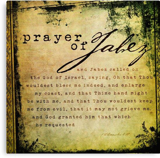 Prayer of Jabez by Dallas Drotz