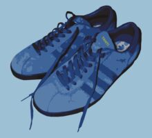 A Casual Classic iconic Adidas Tahiti inspired t-shirt design by Casual Classics