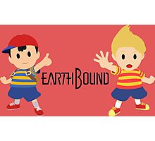Earthbound - Ness and Lucas Photographic Print