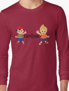 Earthbound - Ness and Lucas Long Sleeve T-Shirt