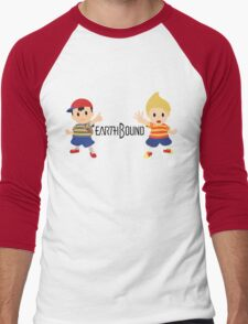 Earthbound - Ness and Lucas Men's Baseball ¾ T-Shirt