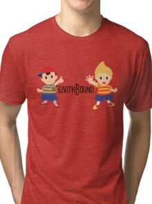 Earthbound - Ness and Lucas Tri-blend T-Shirt
