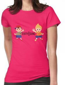 Earthbound - Ness and Lucas Womens Fitted T-Shirt