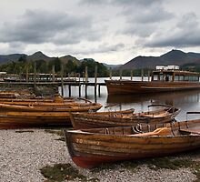 Derwent Water - Lake District  by Jon Tait