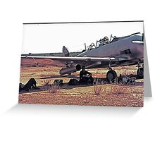 Texan T-6G (1)      Greeting Card