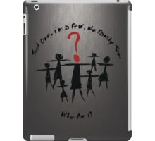 Who Am I? iPad Case/Skin