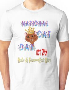 National Cat Day Unisex T-Shirt