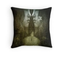 The only way out is to look within Throw Pillow