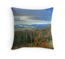 Blankets of Fog Throw Pillow