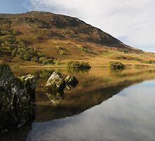 Mellbreak in Crummock Water by Jon Tait