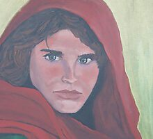 Afghan Girl by Regina Brandt