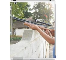 Targetting with Riffle iPad Case/Skin