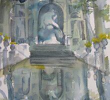 Fontaine de Medicis by Catrin Stahl-Szarka