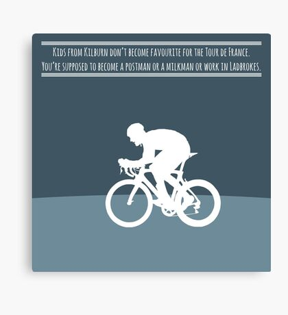 Bradley Wiggins Canvas Print