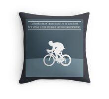Bradley Wiggins Throw Pillow