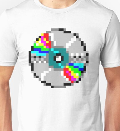 pixelated dvd  Unisex T-Shirt