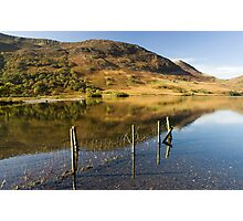 Reflections in Crummock Water Photographic Print