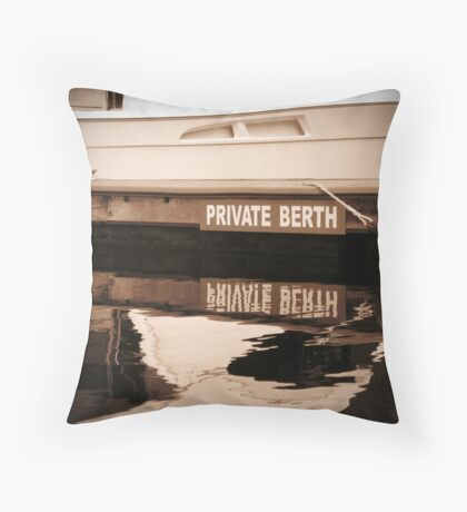 Private Berth Throw Pillow