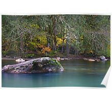 The Whitechuck River.  Poster