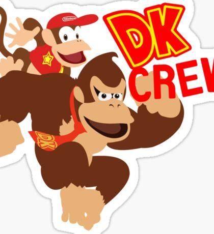 Donkey Kong (DK) Crew! Sticker